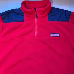VINEYARD VINES Mens Shep 3/4zip pullover. Size L